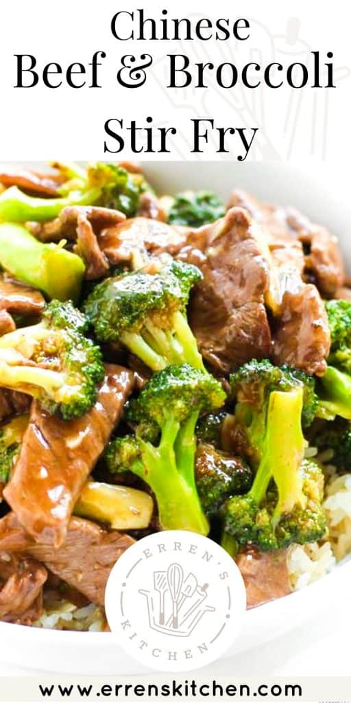 a dish of beef and Beef and Broccoli Stir Fry with a brown sauce