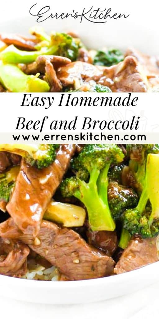 a plate of chinese beef and broccoli with a brown sauce
