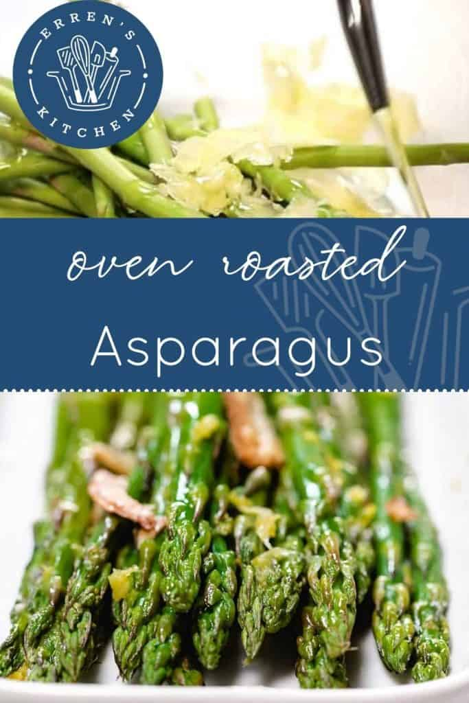Oven Roasted Asparagus Pin