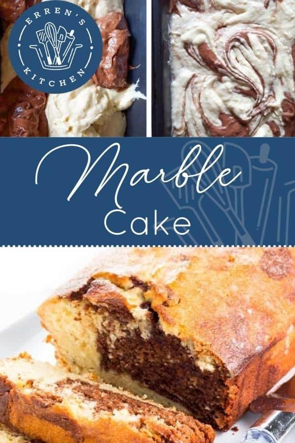 Marble Cake pin image