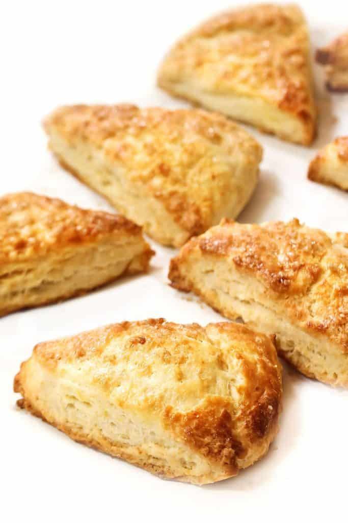 baked scones ready to eat