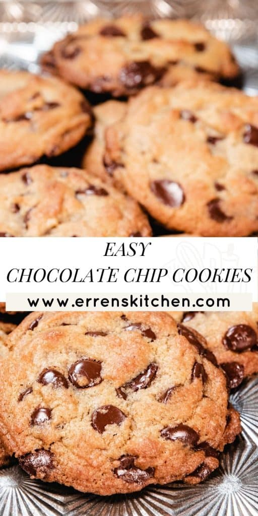 chocolate chip cookies ready to eat