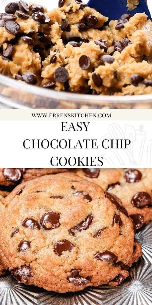 chocolate chip cookie dough and ready to eat cookies