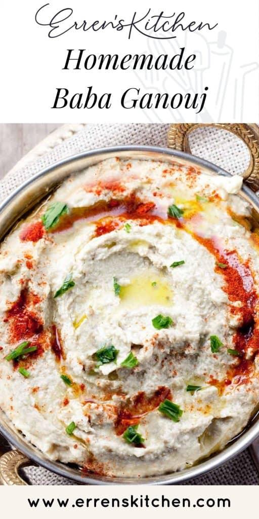 baba ganouj dip ready to eat