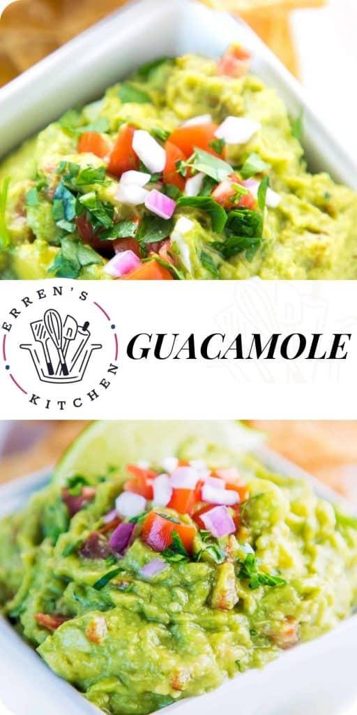 guacamole in a bowl