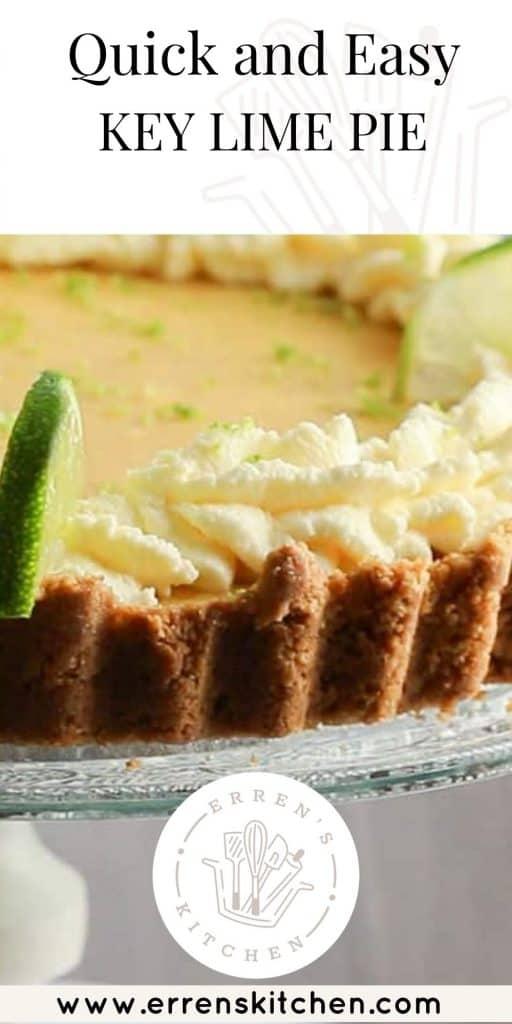 key lime pie ready to serve