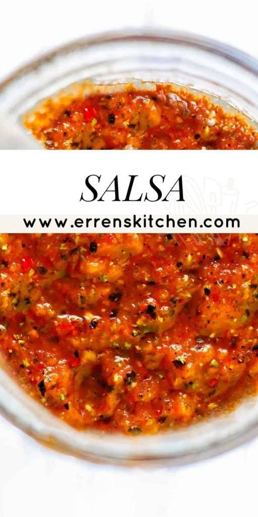 salsa in a jar