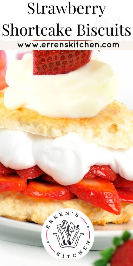 biscuits with cream and strawberry filling
